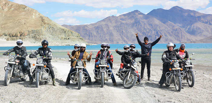 ladakh bike tour packages